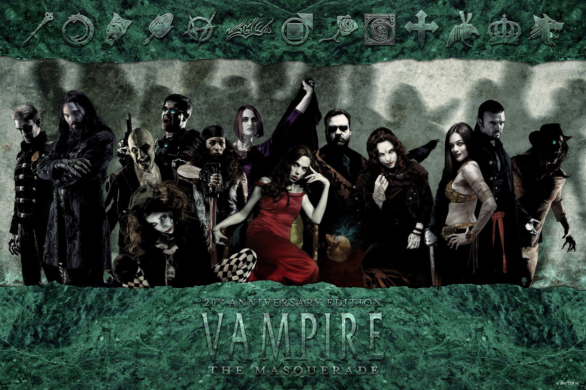 vampire la mascarade 20ème anniversaire